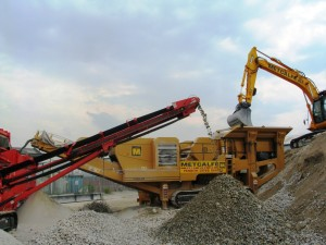 Metcalfe Plant Hire Recycled Aggregates Recycling