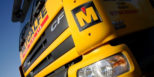 Metcalfe Plant Hire Road Haulage Division