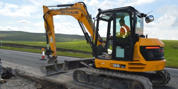 Mini Excavator on Hire