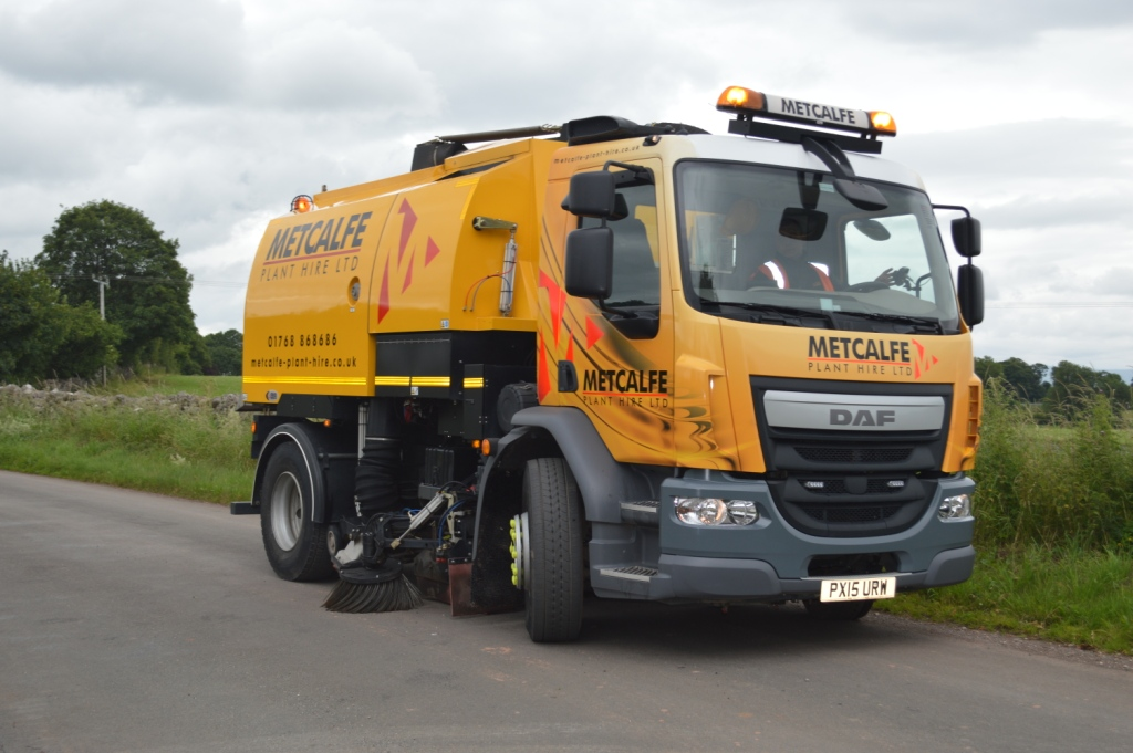 DAF Road Sweeper on Callout