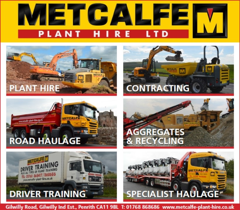 Metcalfe Plant Hire Supports local newspaper